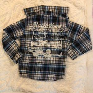 Boys Carters Flannel Shirt, size 5/6